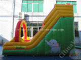 팽창식 18oz PVC 방수포는 아이들을%s 활주를 말린다