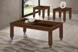 Журнальный стол твердой древесины установил (Aldo 1+2)