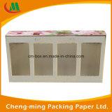 PVC Window Paper Cosmetic Gift Set Caixa de embalagem