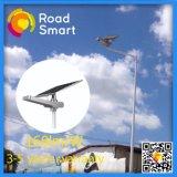160lm/W IP65 15W-60W intelligentes im Freien Solar-LED Straßen-Straßen-Licht