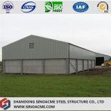 Structure métallique de bâti portique traitant l'atelier