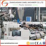 Máquina caliente del estirador de tornillo del gemelo de la venta para el tubo dual del PVC que hace la máquina/la cadena de producción