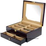 Gafas de alto grado de verificación para el embalaje de caja de gafas de madera cajas de almacenamiento al por mayor