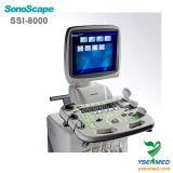 Медицинская машина ультразвука Dopper цвета вагонетки Sonoscape Ssi-8000 3D 4D стационара