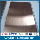 Hoja de metal del acero del color 304 de la marca de fábrica 0.8m m de Posco
