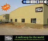 Oficina clara ultramarina da construção de aço de Wellcamp em Guangzhou/Foshan