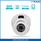 Cámara del IP de la seguridad casera de la bóveda del CCTV IR los 30m Poe de Onvif 4MP
