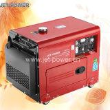 Тепловозный генератор 6kVA, молчком портативный генератор 6kw, звукоизоляционный дизель