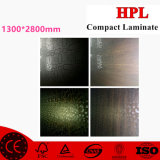 Laminado de madera HPL; Formica HPL de 1.6m m