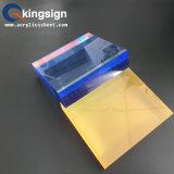 Feuille colorée d'acrylique de Double couche