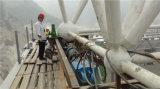 Estructura de acero del surtidor superior del grado