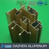 Profil en aluminium en aluminium de l'Afrique Nigéria pour le guichet et la porte