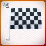 Ткань полиэфира горячего флага участвуя в гонке автомобиля сбывания изготовленный на заказ водоустойчивая