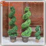 Ome 도매 훈장 아름다운 인공적인 Bonsai 플라스틱 장식 정원 나무