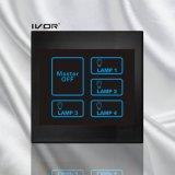 4 troepen die de Schakelaar van de Aanraking met het Hoofd AcrylFrame van de Controle aansteken (sk-lt100l4-m)
