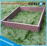 Plantador plástico reciclado jardín casero de la decoración