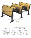 Chaise d'école combinée avec tablette pliante (YA-002)