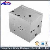 Изготовленный на заказ части алюминия точности подвергли механической обработке CNC, котор для медицинского оборудования