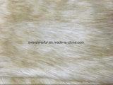Tessuto a riccio lungo dell'alta del mucchio della pelliccia artificiale della pelliccia pelliccia di falsificazione per POM/Garment/Shoe