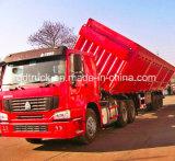 caminhão de reboque do Tipper do eixo do reboque 3 da descarga 45m3 para o carvão