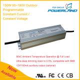 150W 0,95 Un 95~190V Outdoor programmable Driver de LED à courant constant