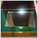 1.1mm - 8mmの厚さのフロートガラスの倍内部アプリケーションのための最大シートのサイズ2440 x 3660mmの上塗を施してある明確な銀製ミラーガラス、