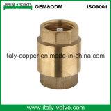 L'ottone superiore ha forgiato la valvola di /Check della valvola di ritenuta del filtro con la noce (AV5003)