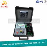 Los probadores automáticos portables Megger de la resistencia de aislante del alto voltaje miden el tipo del puntero (BC2550)