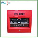 화재 경고 스위치 누름단추식 전쟁 틈 유리