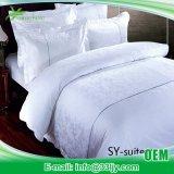 4部分の贅沢で純粋な綿のベッドの慰める人セット