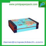 Напечатанная таможней коробка вина пирожня дух картона ювелирных изделий твердого подарка упаковывая косметическим Set-up шоколадом бумажная