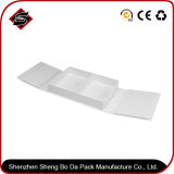 Regalo de papel plastificado mate personalizado Storage cuadro blanco