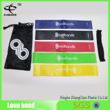 Power Flat Yoga Belt Customized Sport Exercício Loop Resistance Bands