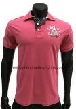 T-shirt elegante do polo para homens com cópia