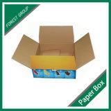 Caja de embalaje de papel impresa cuatro colores para el helado