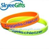 Wristband feito sob encomenda do silicone do presente relativo à promoção com preço mais barato