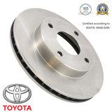 Le frein partie l'accessoire de véhicule de rotor de frein à disque pour Toyota