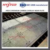 Bestand het Hardfacing van de Schuring van de Slijtage van de Bekleding van het Carbide van het chromium Plaat