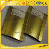 Sections en aluminium balayées brillantes anodisées par OEM pour la décoration de meubles