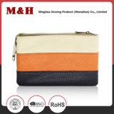 Three-Color bandes horizontales d'achat portable sac cuir Sac d'embrayage