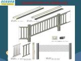 2017 projetos concretos da cerca da alta qualidade, moldes do plástico para a cerca