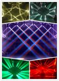 무제한 회전 LED 16PCS 25W 이동하는 맨 위 빛