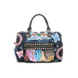 Patches exóticos sacos de mão raspada feminina de mochilas femininas (MBNO042137)
