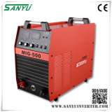 Máquina Shanghai Sanyu 2014 Nueva Desarrollado alta calidad Inversor IGBT MIG Soldadura