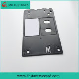 El doble echa a un lado tarjeta imprimible de la identificación del PVC de la inyección de tinta