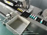 Автоматический горизонтальный обруч вокруг машины для прикрепления этикеток стикера шприца слипчивой
