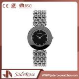 Reloj de cuarzo de moda de color negro