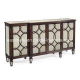 Table antique de console antique Meuble d'entrée en bois massif