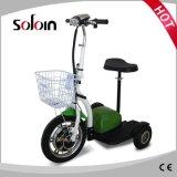 350W 36V 3の車輪のFoldable移動性のゴルフトロリー(SZE350S-3)