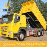 Forte autocarro con cassone ribaltabile utilizzato HOWO di qualità 10tyres Rhd con il prezzo di promozione per il servizio dell'Africa